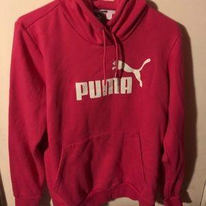 PUMA X-large pink hoodie